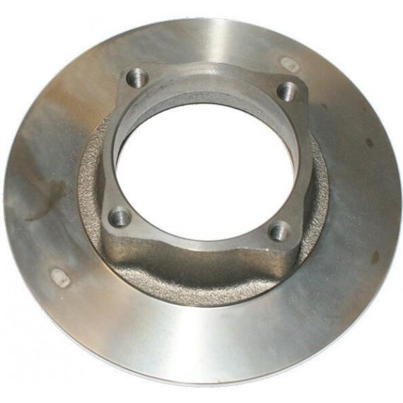 Disco freno anteriore Microcar Virgo 1, 2, 3 diam 170 mm / MC1/MC2 (1 montaggio), JDM Titanium