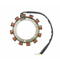Bobina di carica motore lombardini jibs / 2 fili 30 ampere