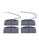 Set di 4 pastiglie freno anteriori 30 mm Aixam / Microcar / Ligier /Chatenet / Jdm / Bellier