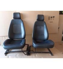Coppia di sedili Aixam city, crossline, crossover, gto (impulsion, vision range) usati