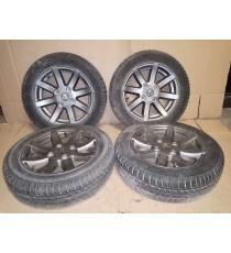 Coppia di 4 ruote in alluminio Aixam 14