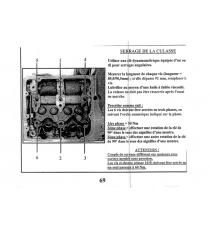 GUARNIZIONE TESTA LOMBARDINI FOCS / PROGRESS (2 TACCHE SPESSORE 1,65MM)