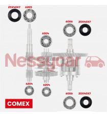 Kit di riparazione per Aixam comex box dal 1997 al 2008 (400,500.4,500.5, A721,A741,A751, City crossline, scouty, roadline)