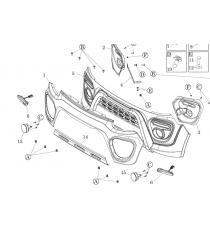 Paraurti anteriore Microcar MGO 6