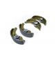 Set di 4 ganasce freno aixam microcar / ligier / jdm / chatenet diametro ( tamburo 160mm )